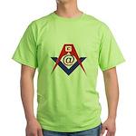 Web Savvy Masons Green T-Shirt