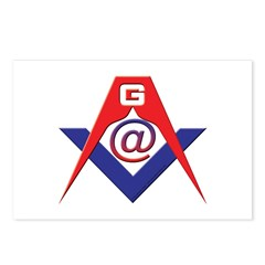 Web Savvy Masons Postcards (Package of 8)
