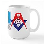 Web Savvy Masons Large Mug