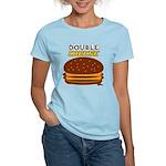 DoubleCHEESE! Women's Light T-Shirt