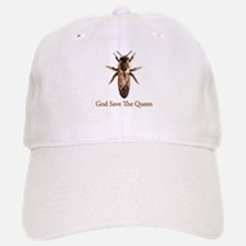 God Save the Queen (bee) Baseball Baseball Cap
