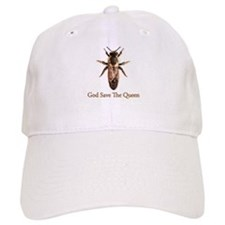 God Save the Queen (bee) Baseball Cap