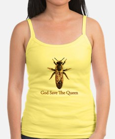 God Save the Queen (bee) Jr.Spaghetti Strap