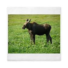 Cow Moose #01 Queen Duvet