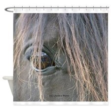 Spiffy's eye Shower Curtain