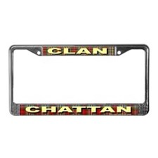 Funny Clan chattan License Plate Frame