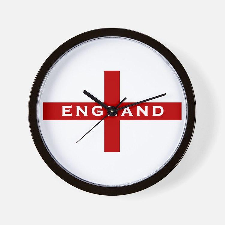 Cute British football Wall Clock