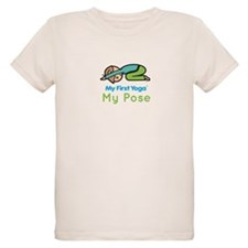 Organic Kids Yoga T-Shirt: My Pose (Child's Pose)