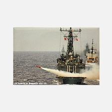 USS SAMUEL B. ROBERTS Rectangle Magnet
