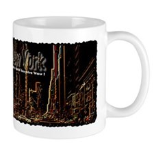 new york lights will inspire Mug