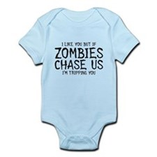 Zombie Chase Infant Bodysuit
