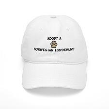 Adopt a NORWEGIAN LUNDEHUND Baseball Cap