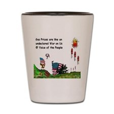 Gas Prices Shot Glass