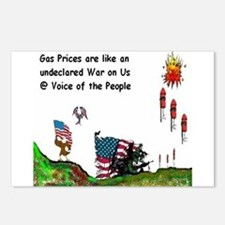 Gas Prices Postcards (Package of 8)