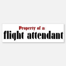 Property of a Flight Attendant (Bumper)