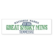 Great Smoky Mountains Nat Par Bumper Sticker