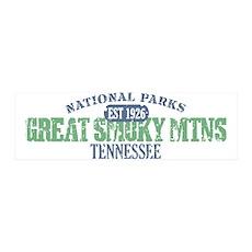 Great Smoky Mountains Nat Par 42x14 Wall Peel
