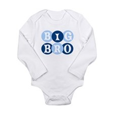 Cool Big brother of twins Long Sleeve Infant Bodysuit