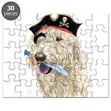 Pirate Cream Labradoodle Puzzle