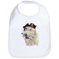 Pirate Cream Labradoodle Bib