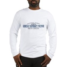 Great Smoky Mountains NC Long Sleeve T-Shirt