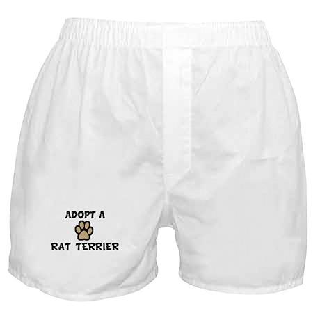 Adopt a RAT TERRIER Boxer Shorts