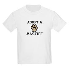 Adopt a MASTIFF Kids T-Shirt
