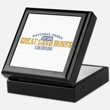 Great Sand Dunes Colorado Keepsake Box