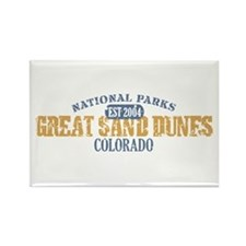 Great Sand Dunes Colorado Rectangle Magnet