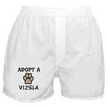 Adopt a VIZSLA Boxer Shorts