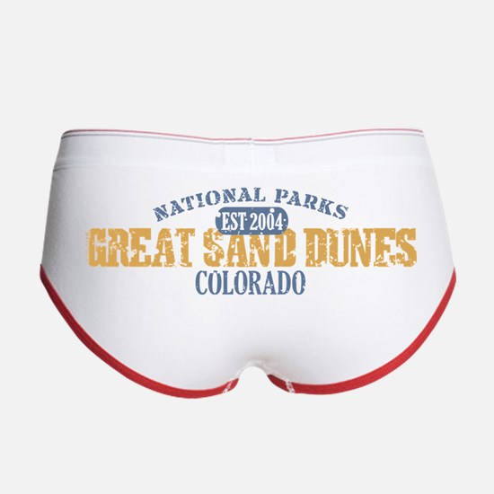 Great Sand Dunes Colorado Women's Boy Brief