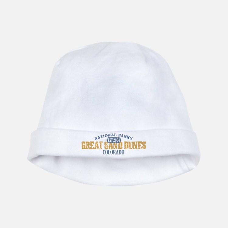 Great Sand Dunes Colorado baby hat