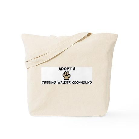 Adopt a TREEING WALKER COONHO Tote Bag