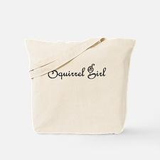 Squirrel Girl Tote Bag Black Text