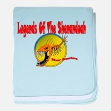 SHENANDOAH LEGENDS baby blanket