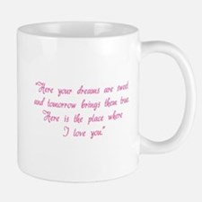 HG here your dreams are sweet .. Mug