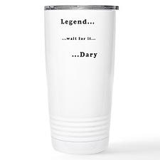"""Barney's """"Legendary"""" Travel Mug"""
