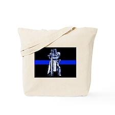 Freemason Templar Thin Blue L Tote Bag