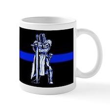 Freemason Templar Thin Blue L Mug
