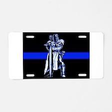 Freemason Templar Thin Blue L Aluminum License Pla