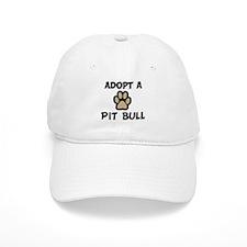 Adopt a PIT BULL Baseball Cap