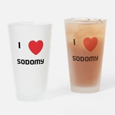 Loving Drinking Glass