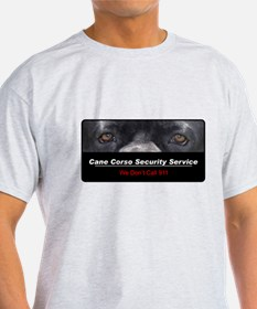 Cane Corso Security Service T-Shirt