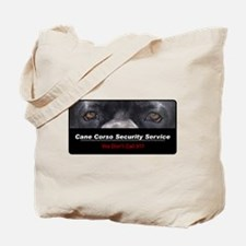 Cane Corso Security Service Tote Bag
