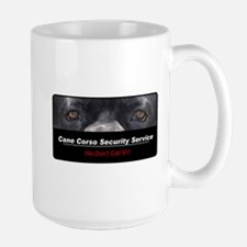 Cane Corso Security Service Large Mug