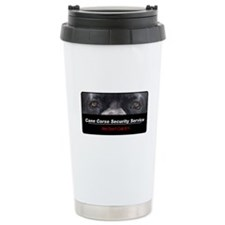 Cane Corso Security Service Travel Mug