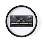 Cane Corso Security Service Wall Clock