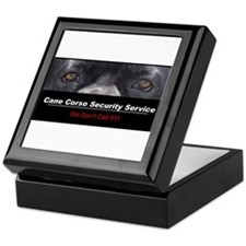 Cane Corso Security Service Keepsake Box
