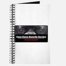 Cane Corso Security Service Journal