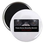 Cane Corso Security Service Magnet